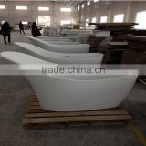 Hot Sale Massage Bathtub, freestanding artificial stone solid surface bathtub,artificial stone freestanding bath tub