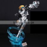 league of legends Pulsef Prodigal Explorer Future Warrior army Ezreal figure Customize game lol plastic pvc collection oem odm