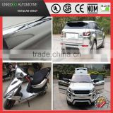 Good car wrap 1.52*20M Silver Chrome Material car sticker vinyl for changing car body color