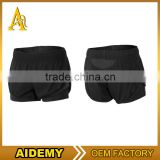 Polyester plain fabric running shorts comfortable mens booty shorts wholesale athletic shorts