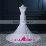GY008 Backless beaded sweetheart Cap sleeve vestido de noiva wedding dress