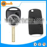2 button car flip key shell replacement with logo and uncut blade for Lexus is250 rx350 gs300 rx330