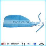 disposable hair non woven steamer net caps