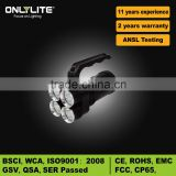 Handhold 18650 rechargeable diving Cree XML T6 led flashlight