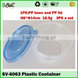 Online shopping disposable clear PP material plastic eco-friendly soups bowls for all kinds of food
