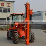 Cheap ground screw drilling machine, GS2000 hydraulic rotary pile driver machine for sale