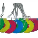 Colorful traditional hanging Chinese paper lantern garland