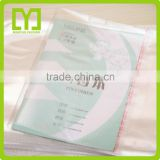 2015alibaba China Plastic High Quality free samples Wholesale cheapest clear plastic book cover