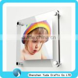 wall mount baby picture frames with screws square acrylic photo frame glass wall mount picture frames