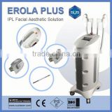 2015 best e-light IPL RF SHR hair removal laser and face treatment beauty machine S3000 CE/ISO