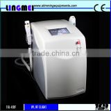 Strong ABS material ipl rf elight machine,1 or 2 handle available,200000 shots xenon lamp