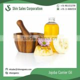 Natural and High Grade Jojoba Carrier Oil at Bulk Price