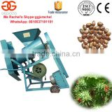 Castor Seeds Threshing Machine Castor Beans Hull Removing Machine