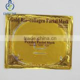24k gold collagen crystal facial mask private label