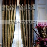 Medusa Style Living Room Colourful Curtains/ Luxury Embroidery Elegant Bedroom Entrance Door and Window Curtains with Valance