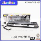 Wooden children 37 Keys wooden mini toy piano