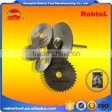 6pcs set HSS circular saw with mandrel shank cut off wheel dremel die grinder rotary tool cut pipe wood metal