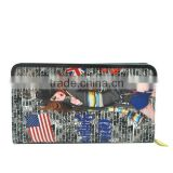Custom Print Leather Wallet ,Money Wallet