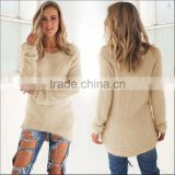 Fashion Women's Casual Long Sleeve Jumper Pullovers Loose blouse