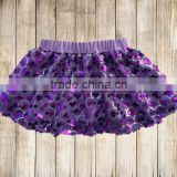 Newest baby products girls skirts baby sequin skirts royal blue girl dress