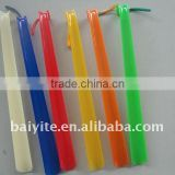 Hot quality Plastic Hotel 45cm shoe horn