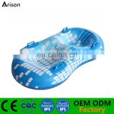 Beautiful customizable inflatable snowboard inflatable water ski tube for two people