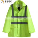 CNSS High visibility yellow or customized color rain jacket and Pants
