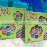beauty set beads assorted, plastic beads set,DIY beads