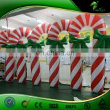 Custom Interesting Inflatable Advertising Model, Sugar Cane/ Plastic Candy Cane for Sale
