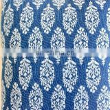 10 yards Indian Hand Made sanganer pure cotton fabric hand block dabu Print 44''