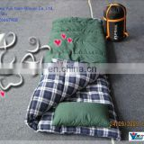 Topper 3D/6D hollow fiber filling sleeping bag