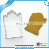 cartoon style christmas festival safety cookie biscuit cutter