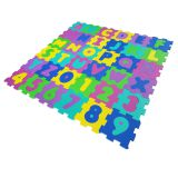 Odorless EVA Alphabets & Numbers Foam Children Play Mat Puzzle
