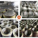 99mm 108mm 165mm 172 mm 175 mm Tinplate can component for Paint Can-- bottom / ring / lid