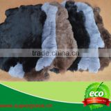 Fur Factory Tanned Rabbit Fur Pelt with Wholesale Price