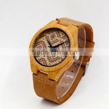 Smart watch made wood watches men natural wooden wrist watch for men or women
