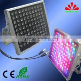 2015 high quality waterproof outdoor high power 100w/200w/300w dmx 5 led rgb flood light