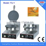 professional Hot selling non-stick single plate electric ice cream waffle cone making machine