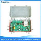 JM-860E CATV Signal Amplifier / NTSC, PAL B/G & D/K CATV Headend Amplifier battery powered fm transmitter