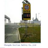 radar spped sign Outdoor Solar Power Radar Speed Limit Sign                                                                         Quality Choice