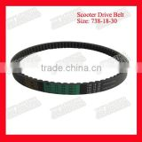 Size 738-18-30 Genuine Serpentine Belt Alternator Belt For Honda/Piaggio/Malaguti/Yamaha