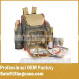 Hot selling high quality picnic basket 4 person picnic backpack                                                                                                         Supplier's Choice