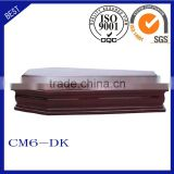 CM6-DK funeral supplies Italy coffin wooden coffin
