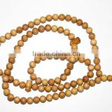 Natural Sandal Wood Islamic Prayer Beads 8.5MM APPROX 32 INCH Good Quality On Wholesale Price