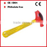 red head and yellow handle PVC large inflatable hammers with custom printing