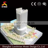 miniature model house with beautiful landscape and light