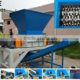 Strong two shafts industrial plastic lump shredder