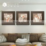 new wall art pictures with mirrored glass frames