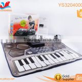 Kids Keyboard DJ electronic play mat large playmat children play mats musical keyboard playmat