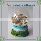Tourist souvenir gifts resin glass water globe
